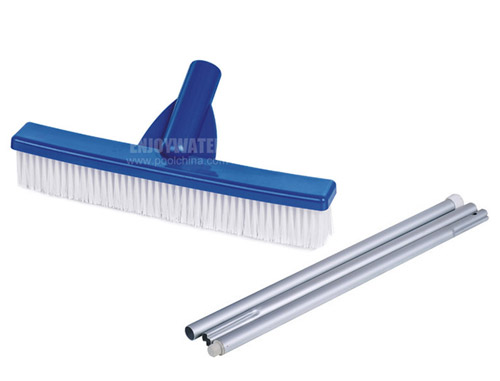 Poly bristle brush with aluminium pole of  52