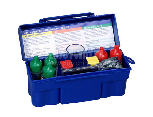 5-way Test Kit with DPD tablets:  PH, CL, Bromine, Alkalinity, Acid Demand