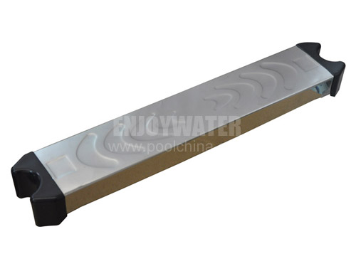 Stainless steel step for D42mm handrails