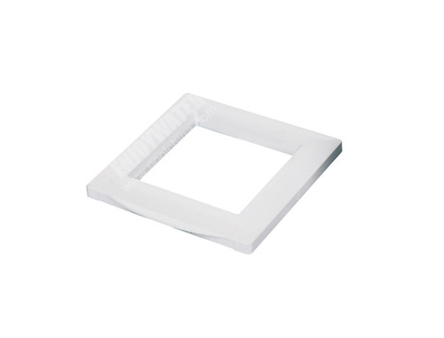 Decorating plate for standard wall skimmer